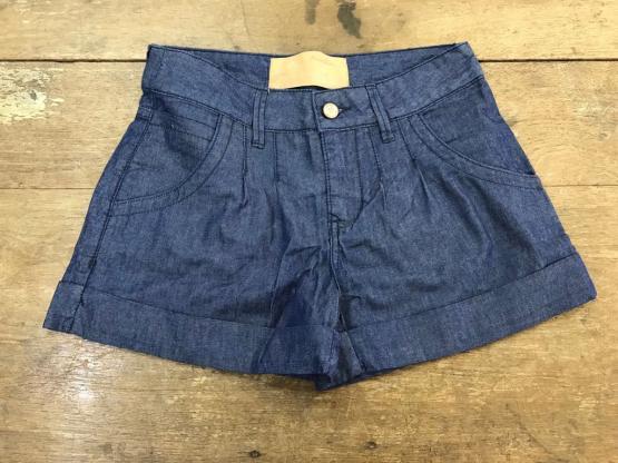 NYC AVEC 20 - Short Jeans Alfaiataria - Azul